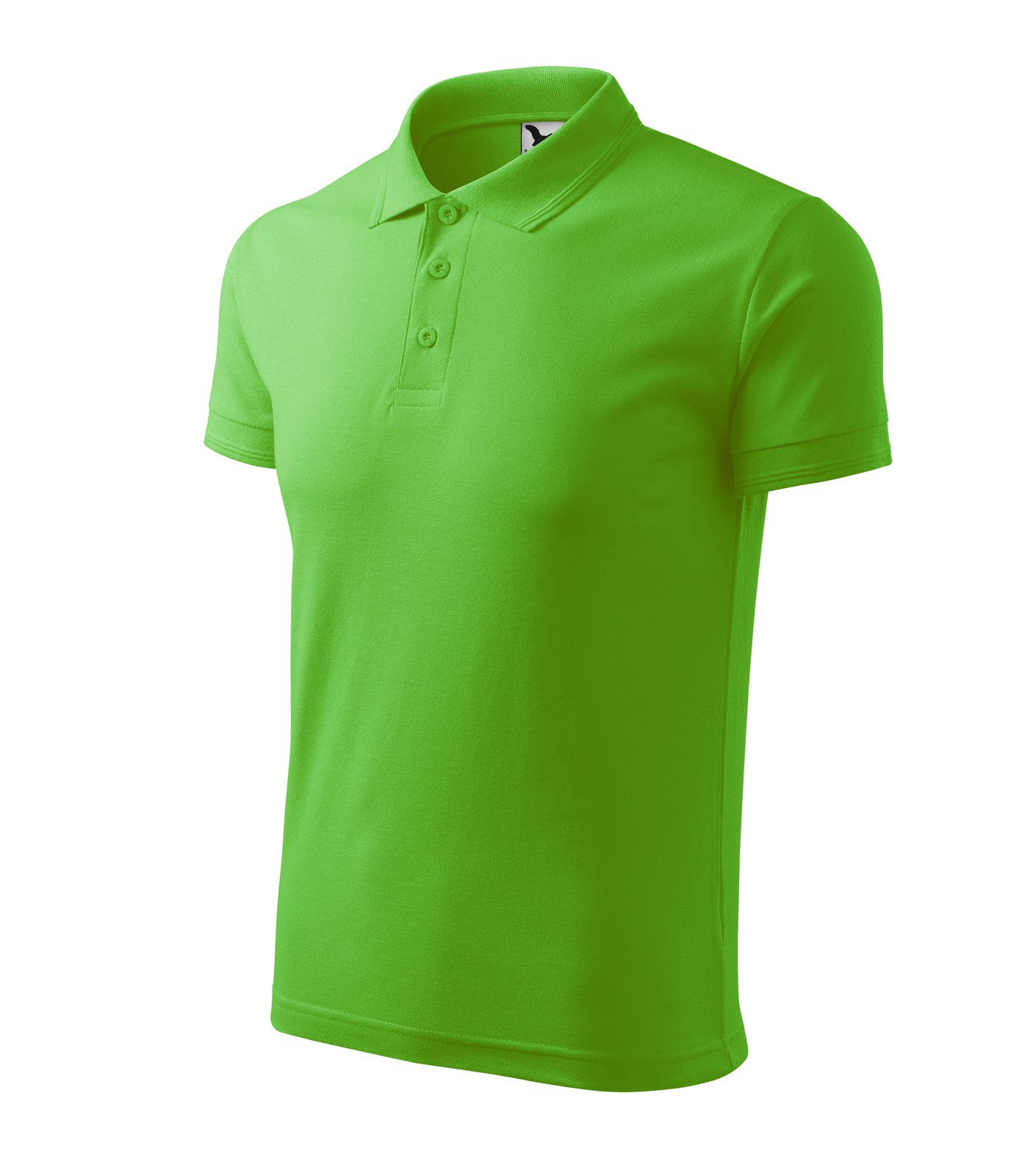 Polo Shirt Gents Malfini Pique Polo - Apple Green / M
