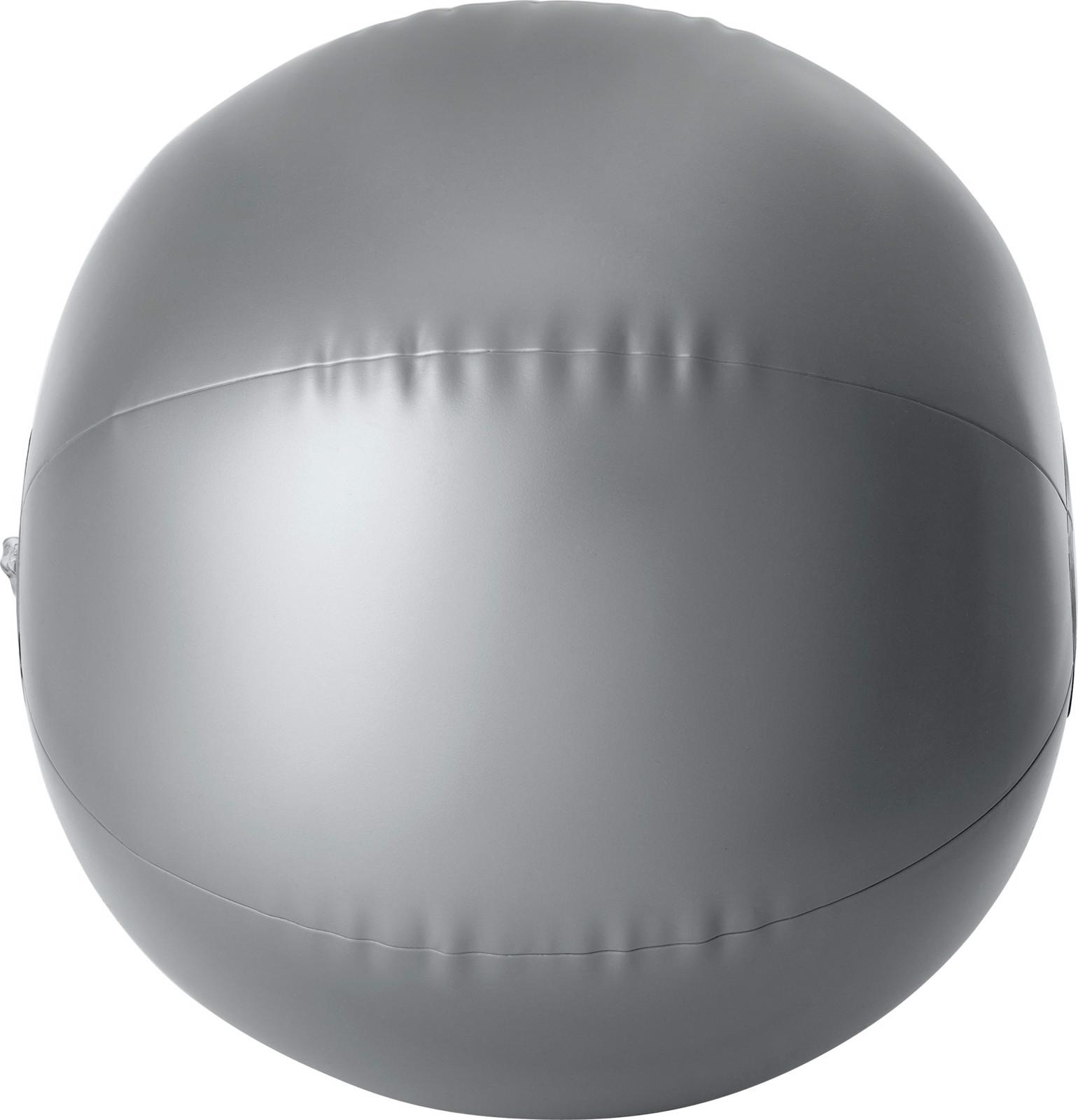 PVC beach ball - Silver
