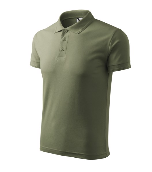 Polo Shirt Gents Malfini Pique Polo - Khaki / M