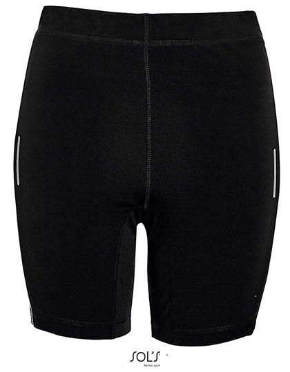 Women`S Running Shorts Chicago - Black / XXL