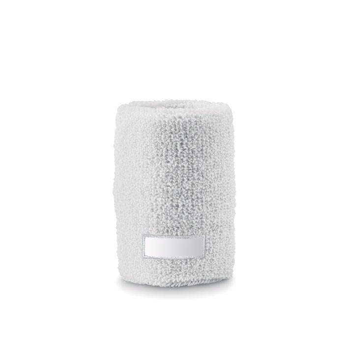Sweat wristband Guaiband - White
