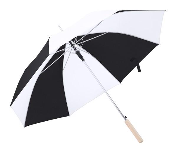 Umbrelă Korlet - Alb / Negru