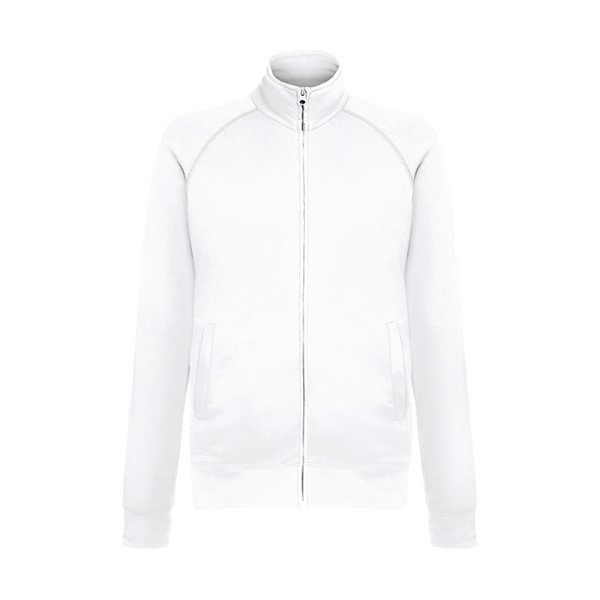 Unisex Sweatshirt 240 g/m2 Lightweight Jacket 62-160-0 - White / L