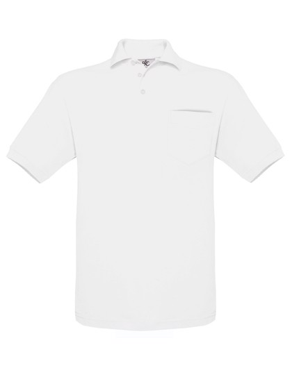 Polo Safran Pocket / Unisex - White / L