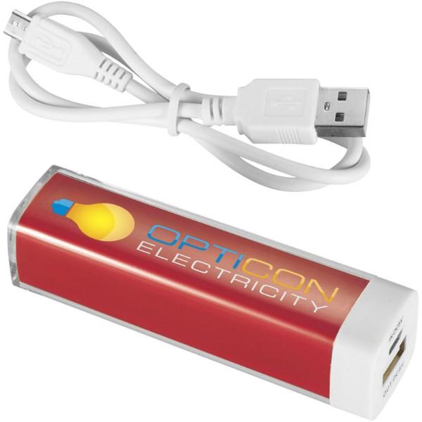 Powerbank 2200 mAh Flash - Czerwony