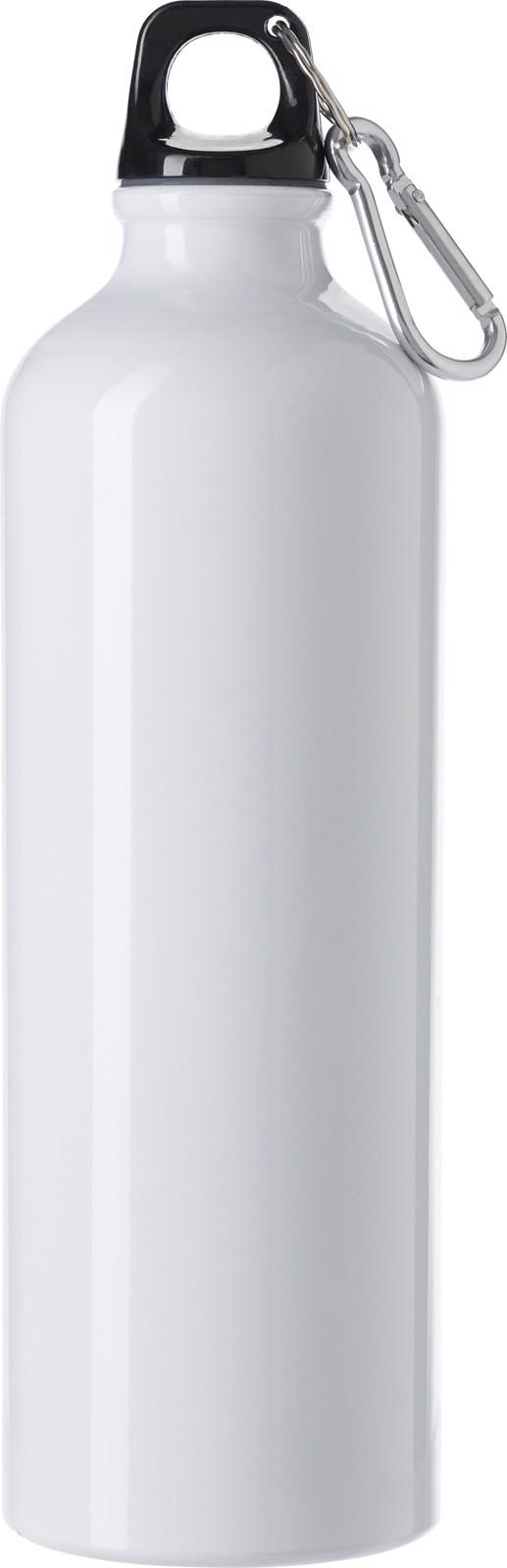 Aluminium flask - White