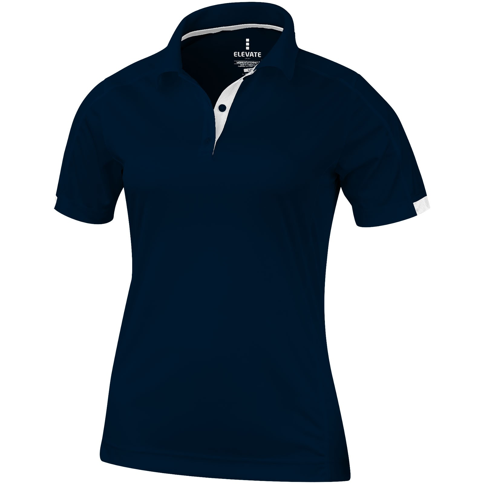 Kiso short sleeve women's cool fit polo - Navy / M