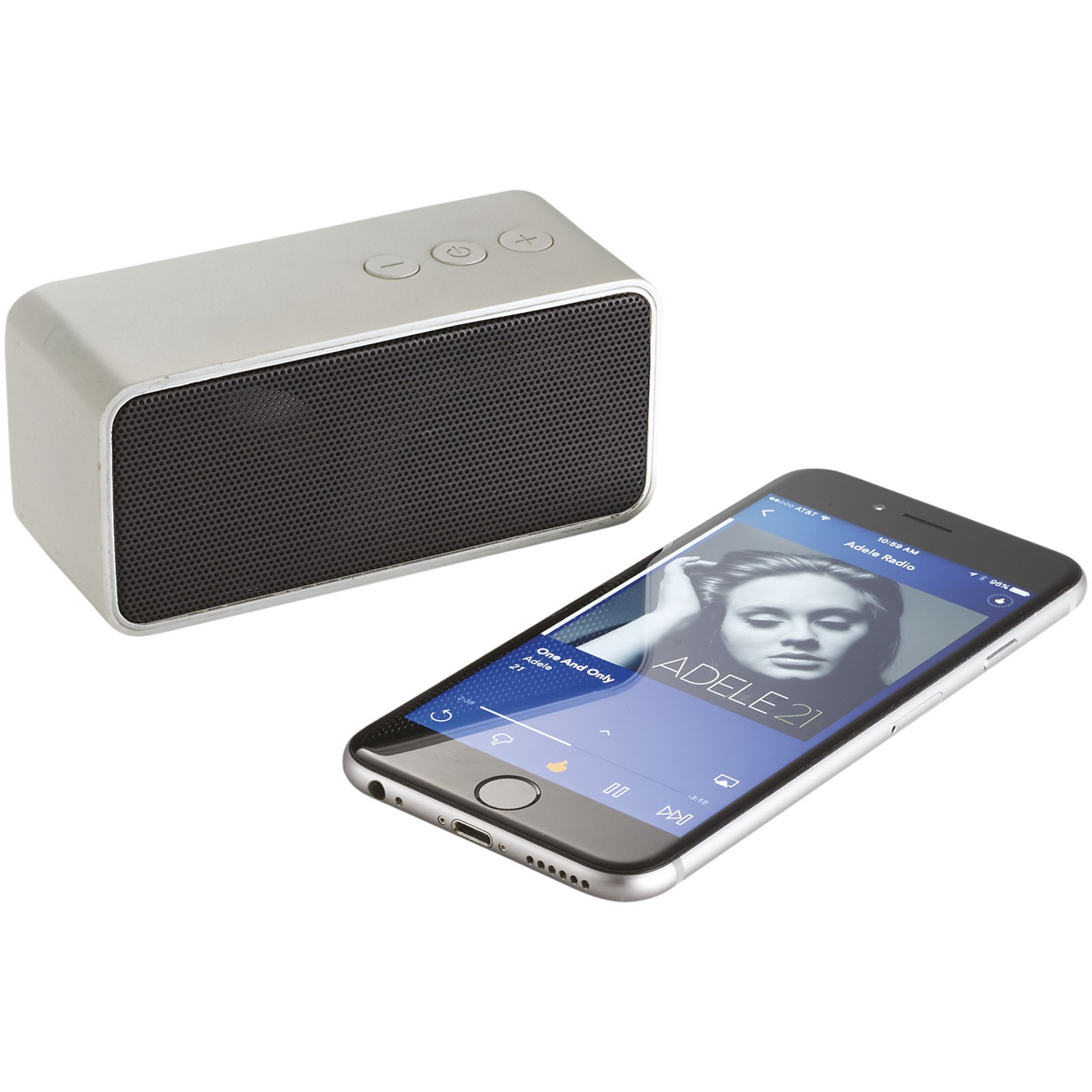 Stark portable Bluetooth® speaker - Silver