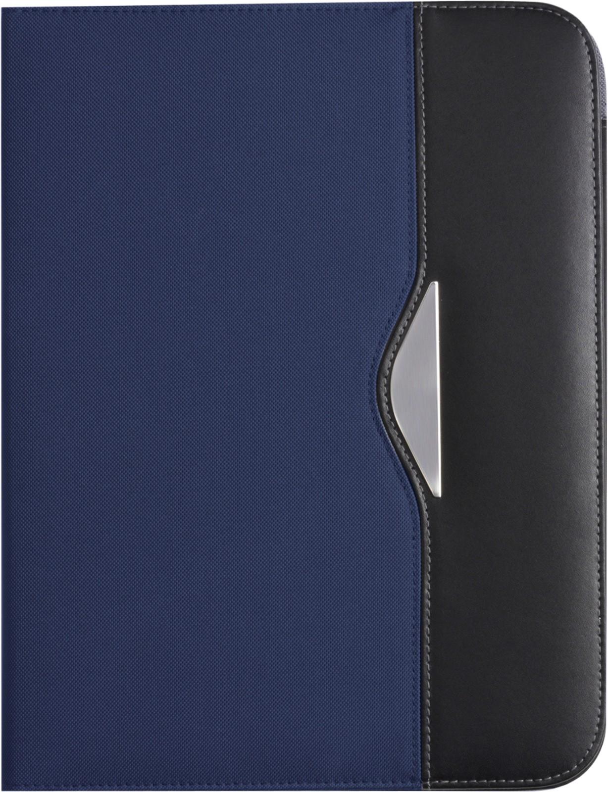 Nylon (600D) folder - Blue