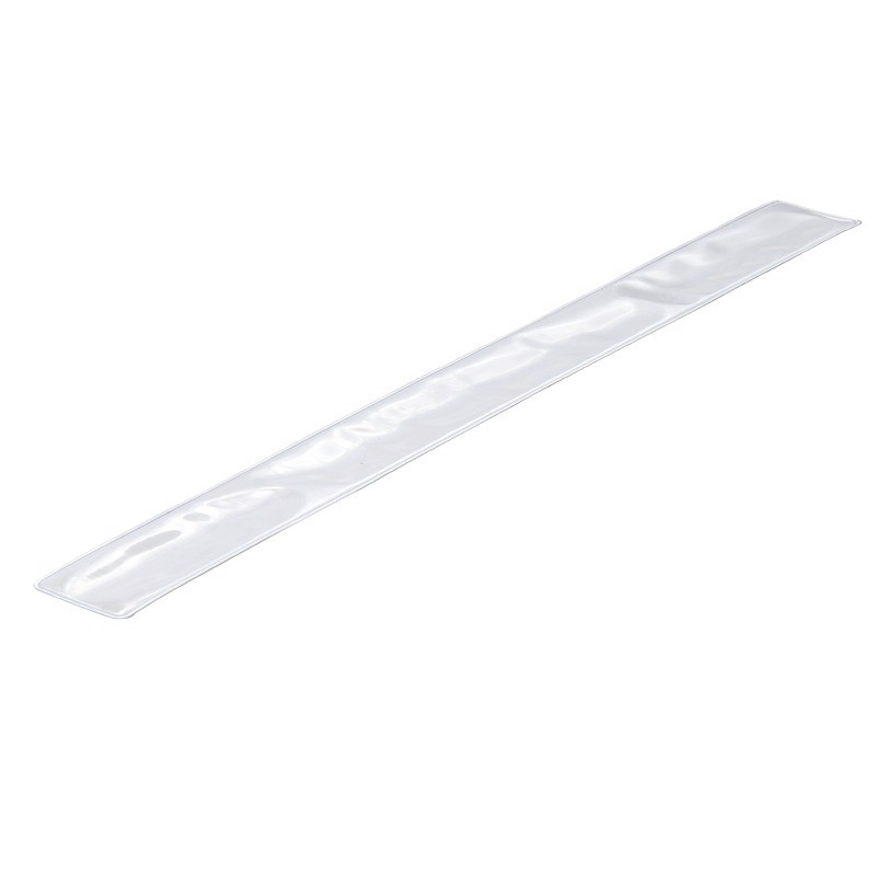 Opaska odblaskowa 45 cm - Srebrny