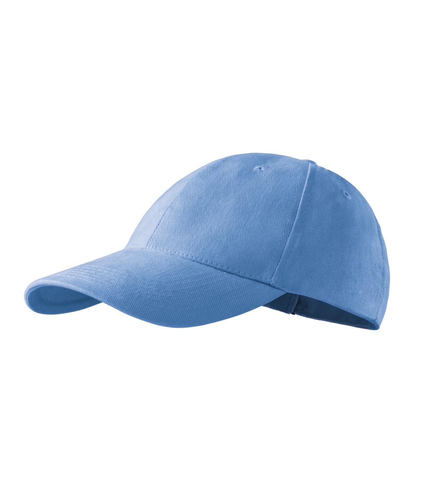 Čepice unisex Malfini 6P - Nebesky Modrá / nastavitelná