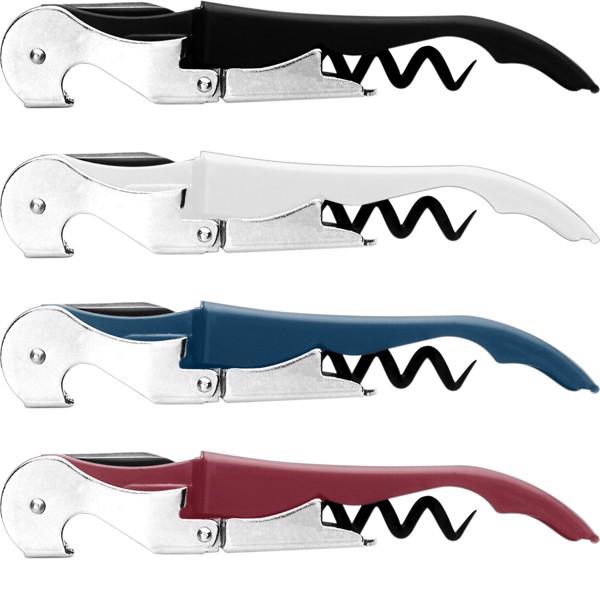 Stainless steel waiter's knife - Burgundy