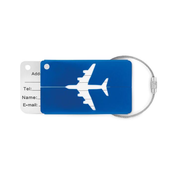 Zawieszka na bagaż Fly Tag - niebieski
