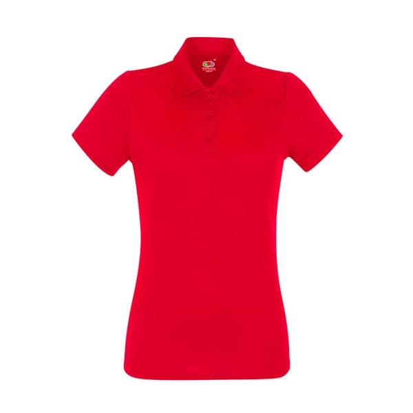 Dámské funkční polo tričko Lady-Fit Polo 63-040-0 - White / XXL