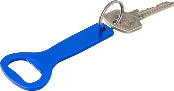 Aluminium bottle opener - Silver
