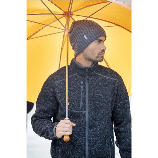 """30"""" golfový deštník Karl s dřevěnou rukojetí - Šedá"""