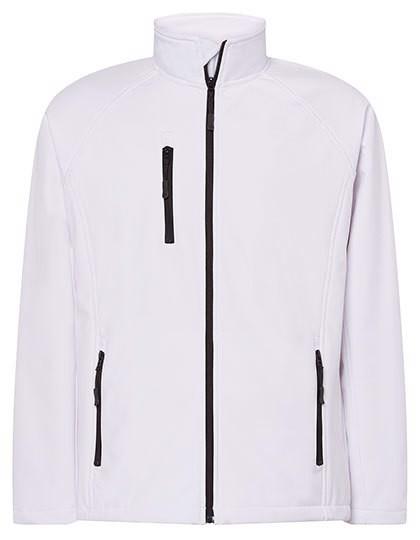 Softshell Jacket - White / XL