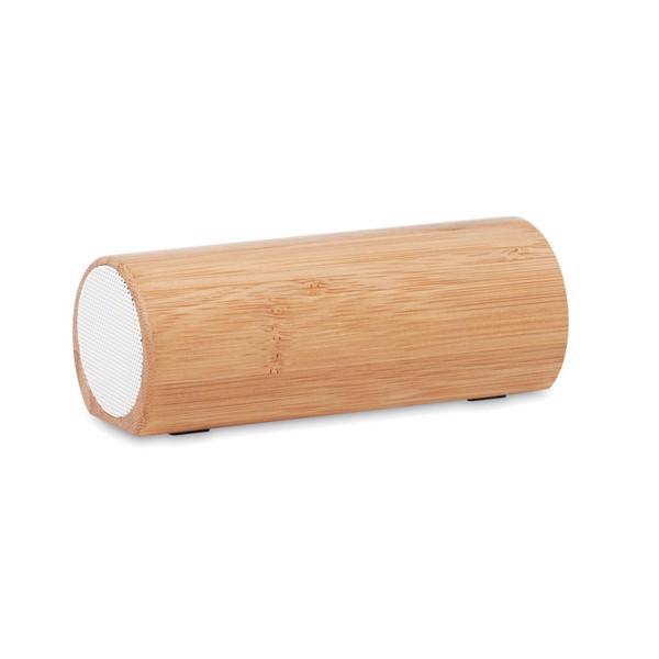 Bezprzewodowy głośnik, bambus Speakbox