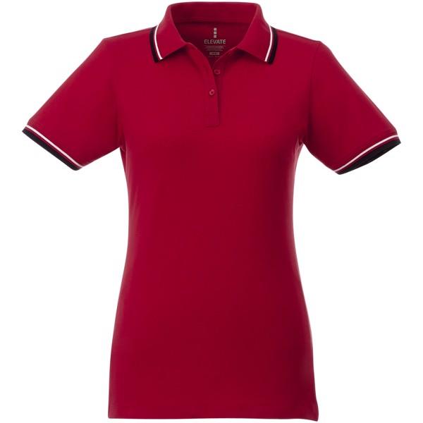 Fairfield dámská polokošile - Červená s efektem námrazy / Navy / Bílá / XL