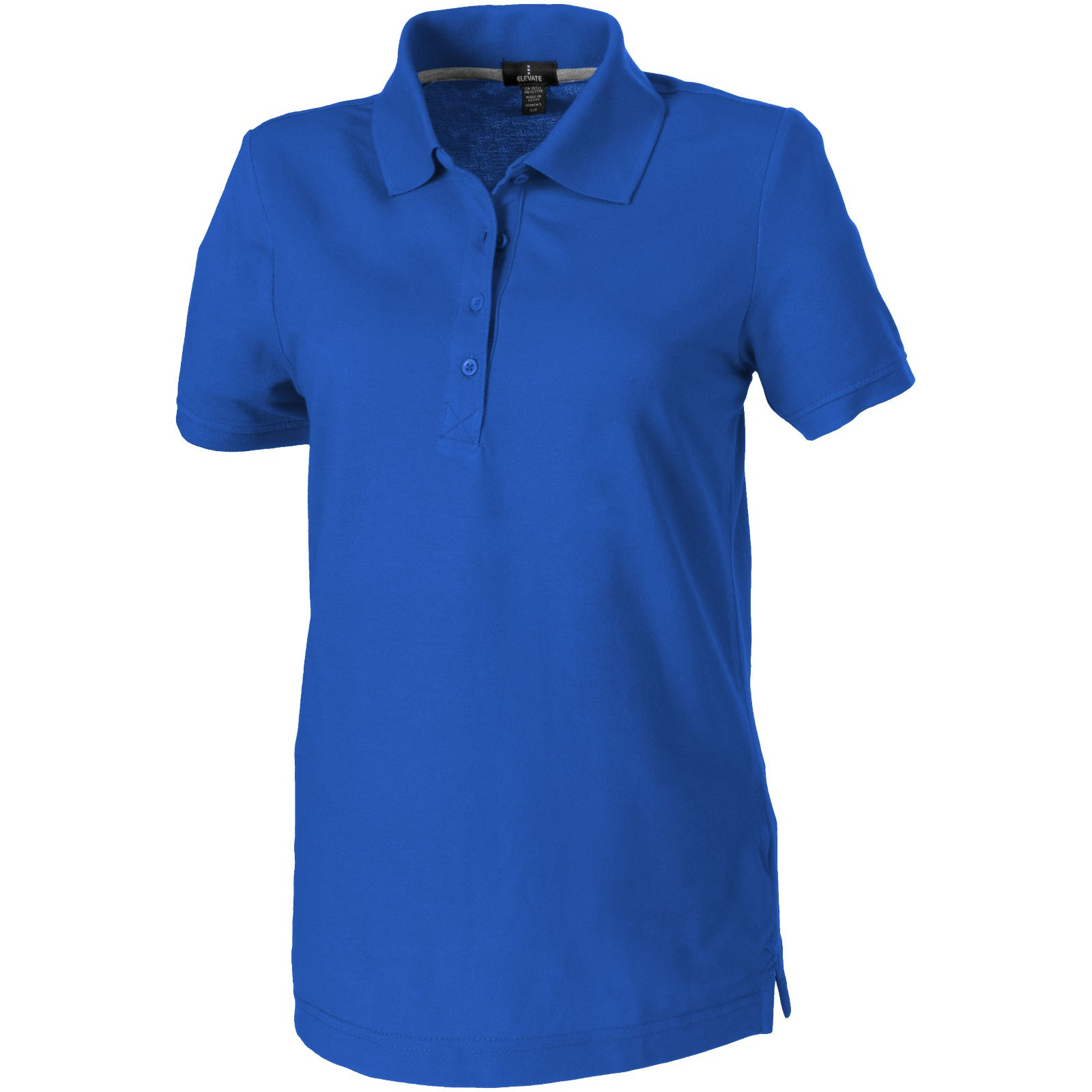 Crandall short sleeve women's polo - Blue / M