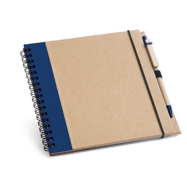 PLATH. Bloc de notas de bolsillo - Azul