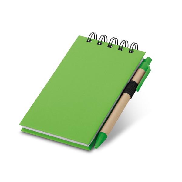 Alf. Notepad - Light Green
