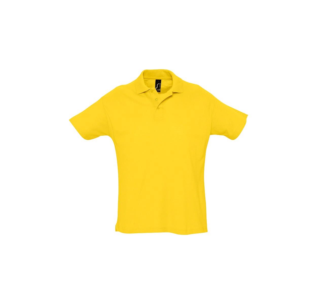 Polokošile Pique Summer II - Žlutá / S