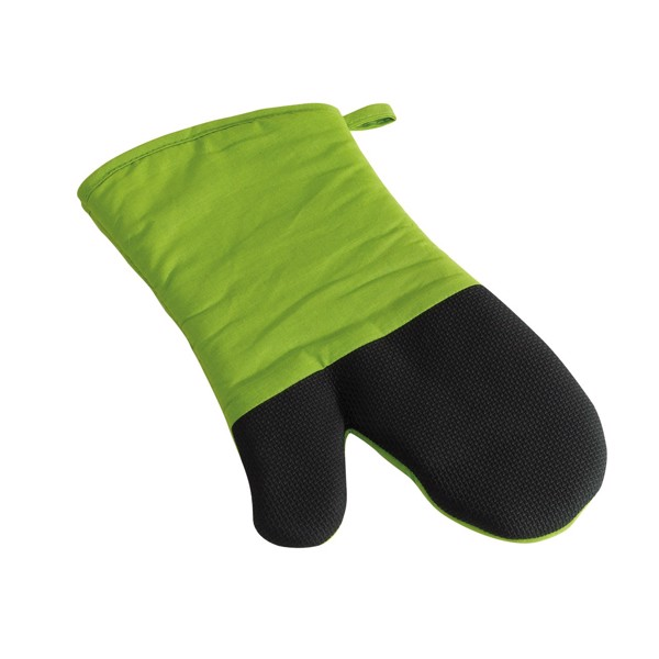 Rukavice Na Grilování Stay Cool / Černá / Světle Zelená
