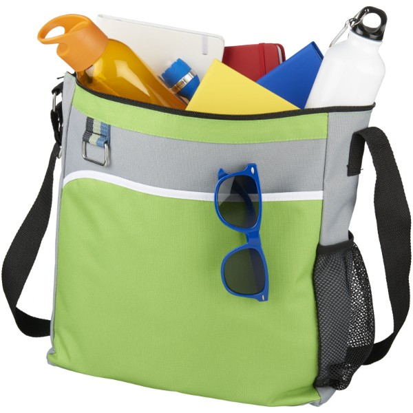 Kalmar shoulder tote bag - Lime