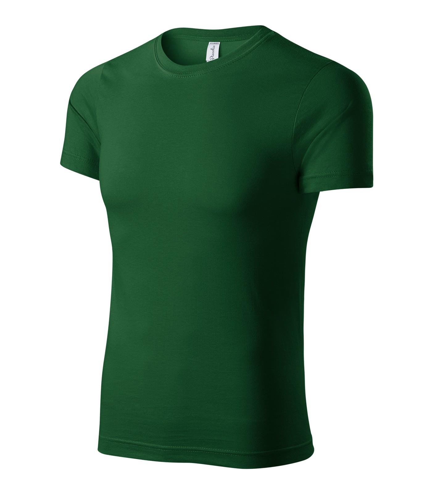 T-shirt unisex Piccolio Paint - Bottle Green / M