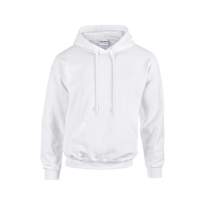 Mikina s kapucí Heavy Blend Hooded Sweat 18500 - White / S