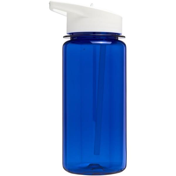 Sportovní láhev s víčkem s hubičkou Octave Tritan™ 600 ml - Modrá / Bílá