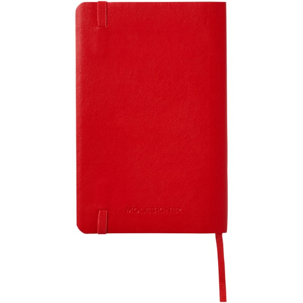 Classic PK soft cover notebook - squared - Scarlet Red
