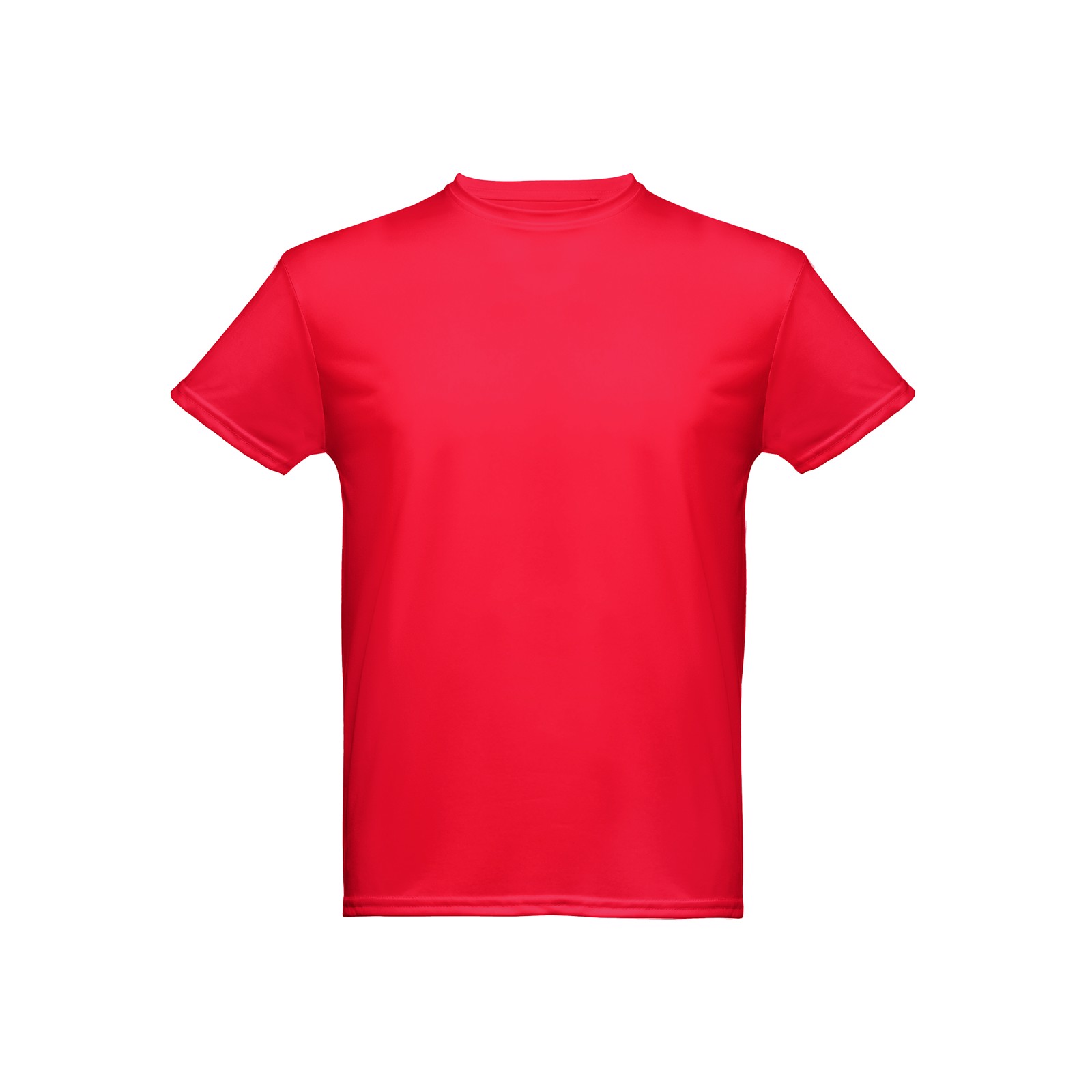 NICOSIA. Men's sports t-shirt - Red / XL