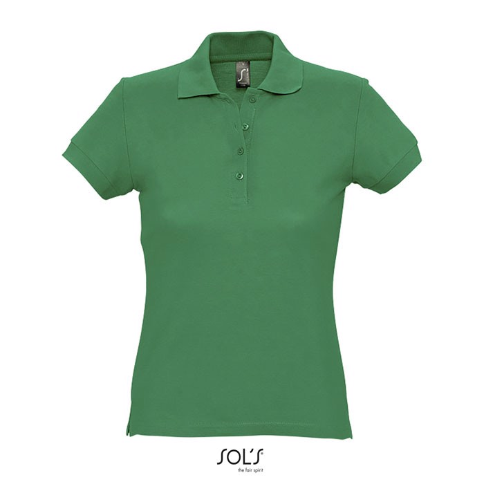 PASSION POLO MUJER 170g - Verde / XL