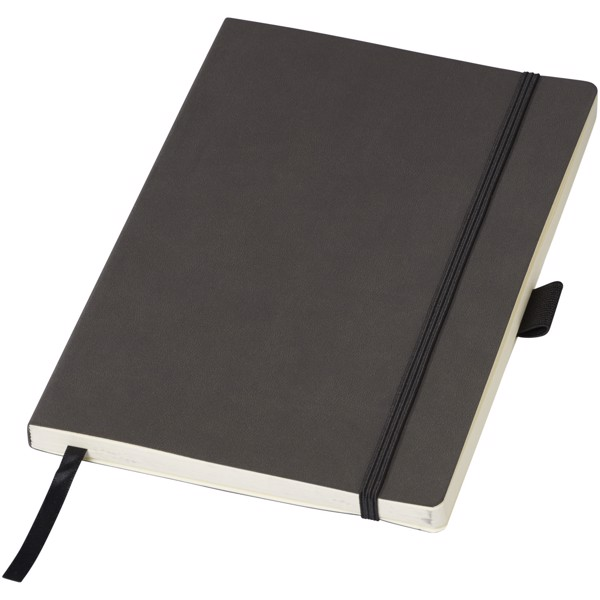 Revello A5 soft cover notebook - Solid black
