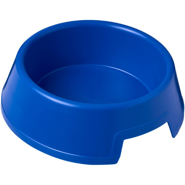 Jet plastic dog bowl - Blue