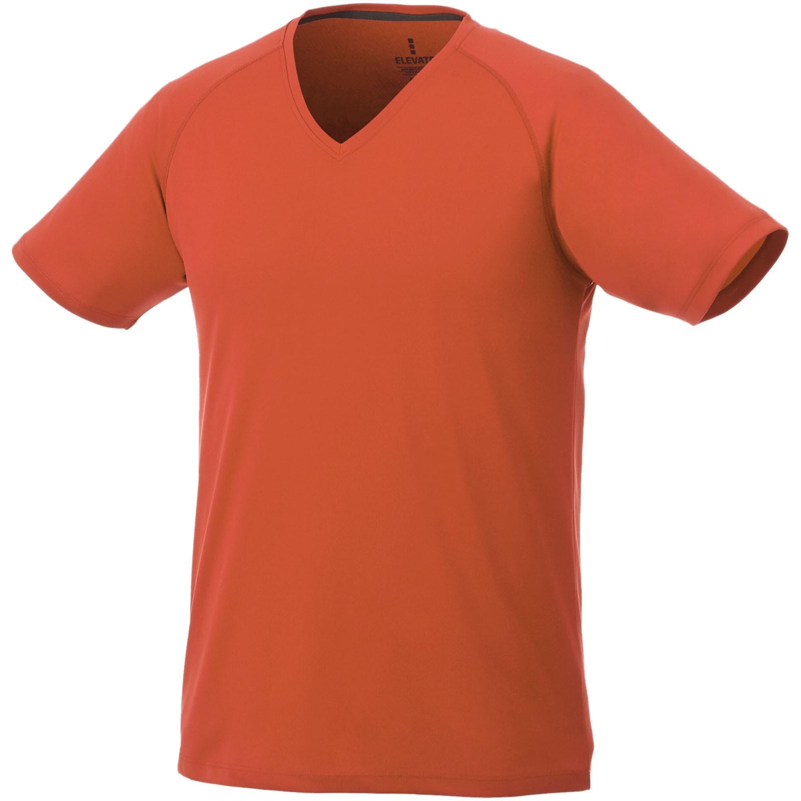 Amery pánské cool fit v-neck tričko cool fit - 0ranžová / L