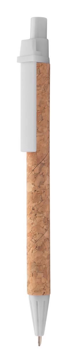Ballpoint Pen Subber - White / Natural