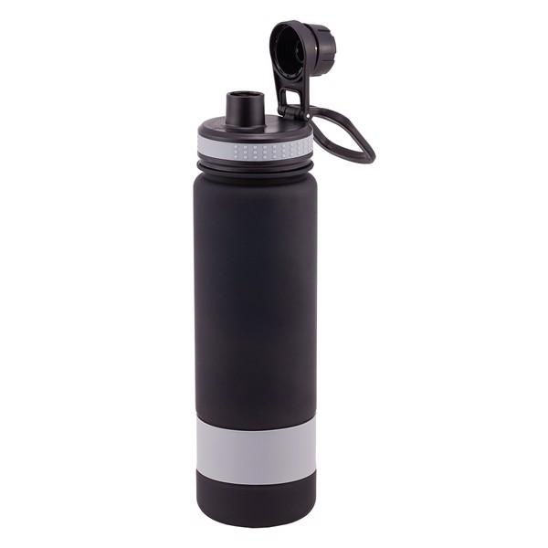 Bidon Facile 900 ml - Szary