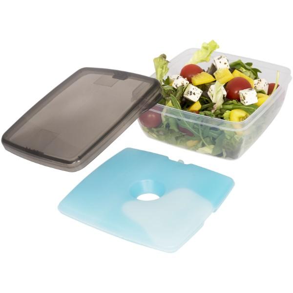 Glace Lunchbox mit Eispad - Grau