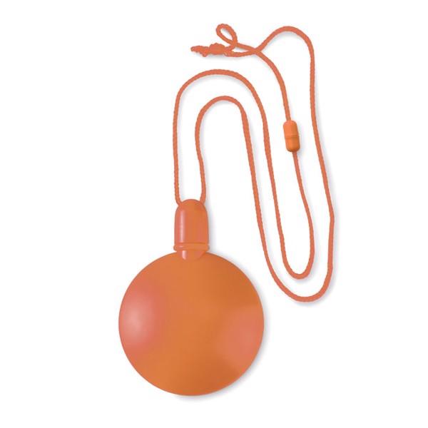 Round bubble blower Sopla Round - Orange