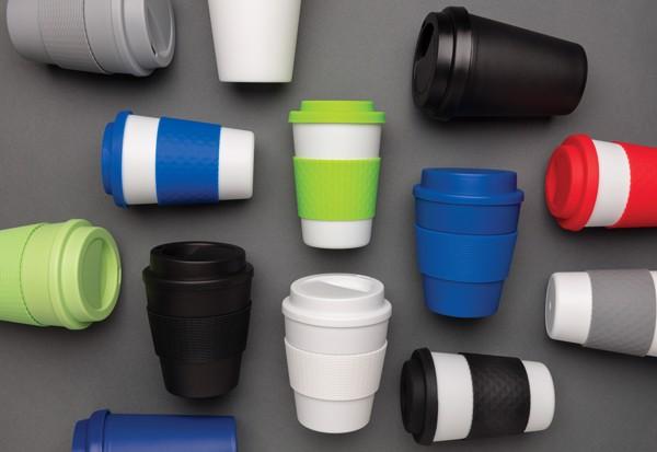 Többször használatos kávésbögre 270 ml - Fekete