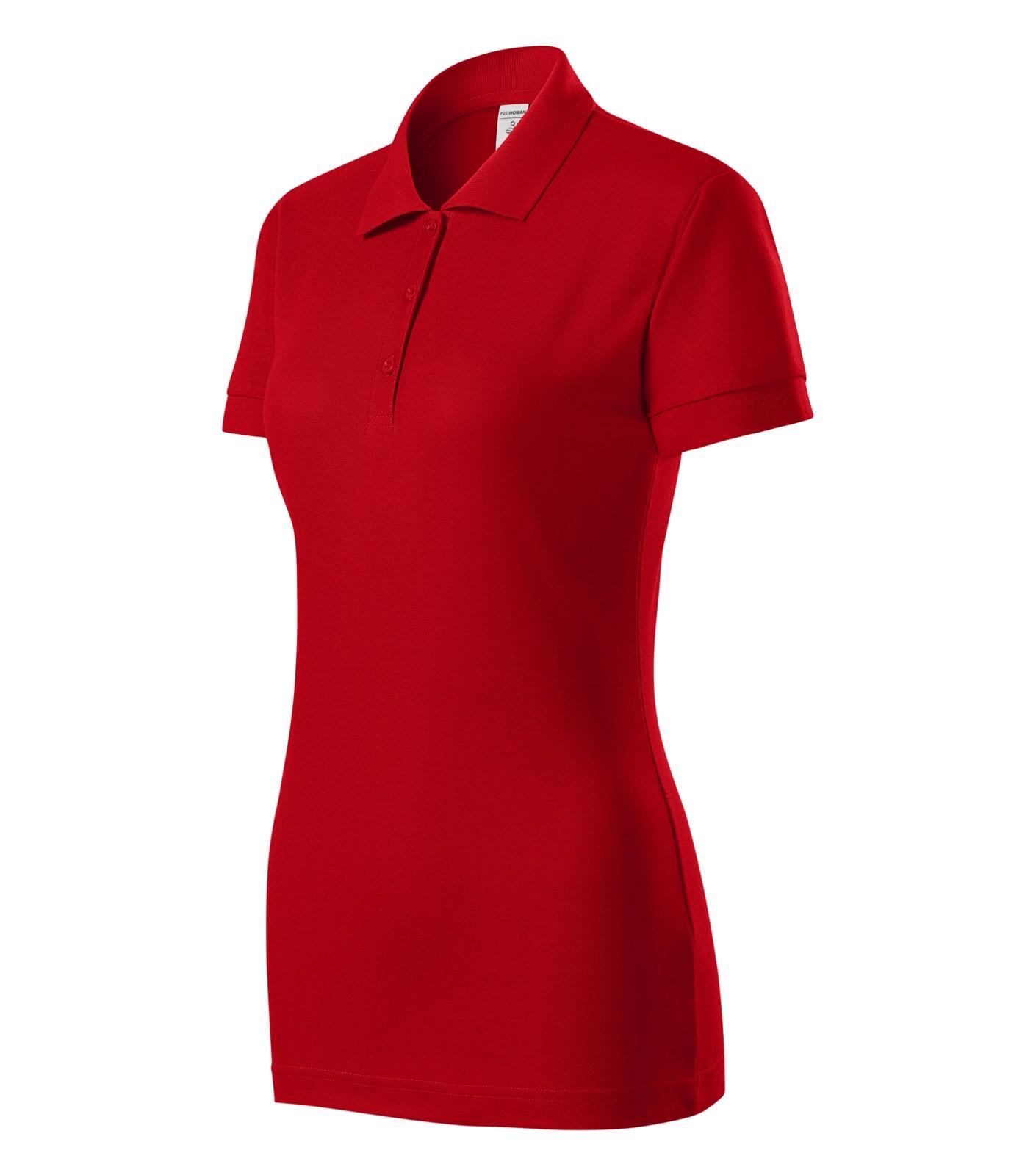 Polo Shirt women's Piccolio Joy - Red / 2XL