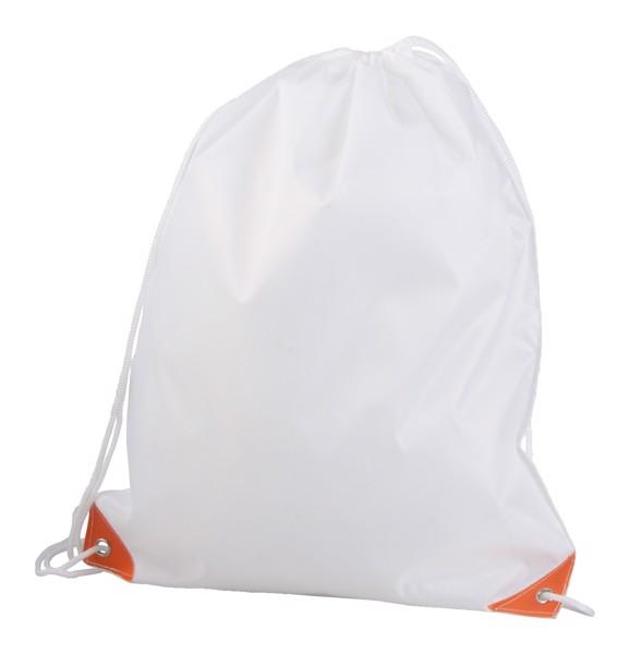 Vak Na Stažení Šňůrkou Nofler - Bílá / Oranžová