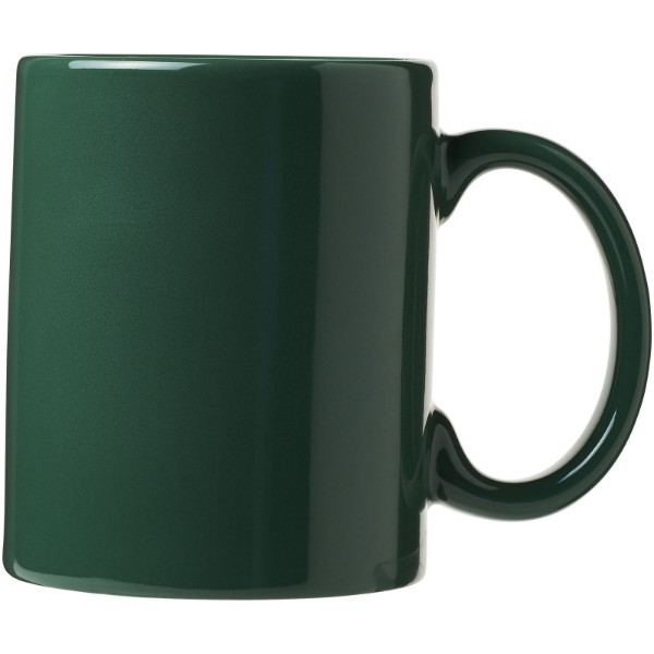 Santos 330 ml ceramic mug - Green