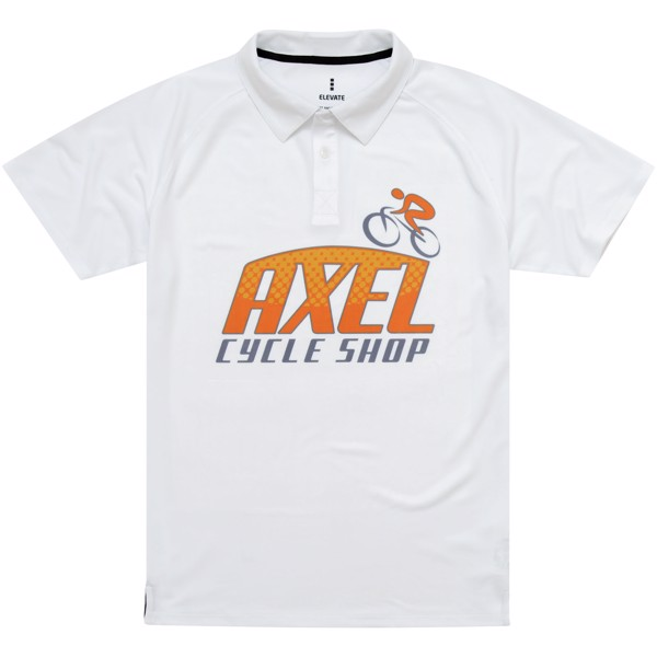 Ottawa short sleeve men's cool fit polo - White / XS