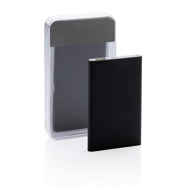 4000 mAh powerbank - Fekete / Fehér