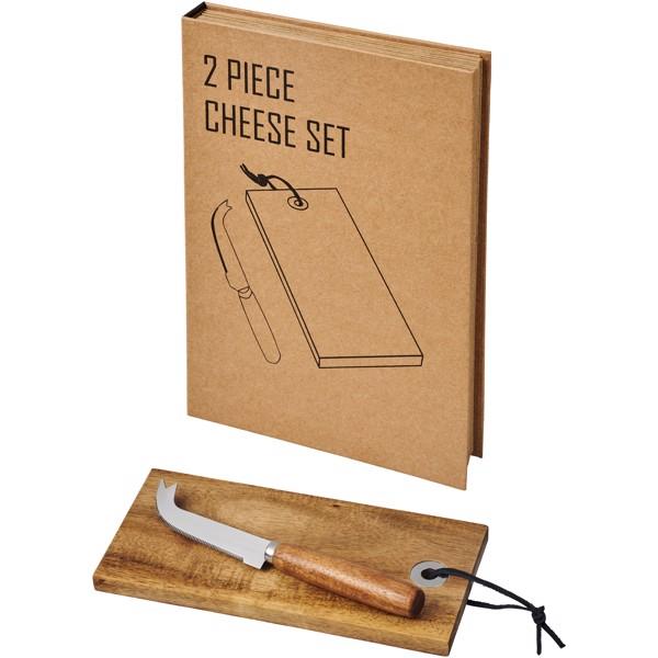 Dvojdílná dárková sada na sýr Reze