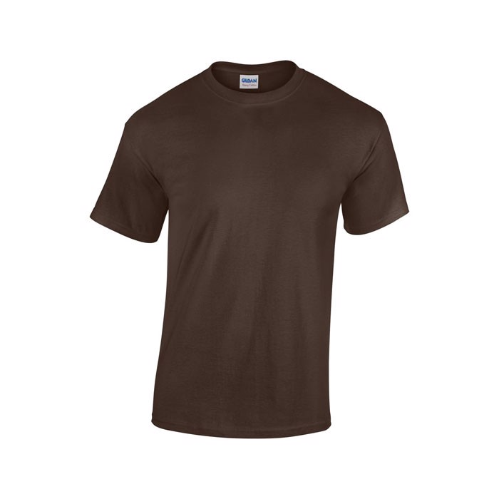 Heavy t-shirt 185 g/m² Heavy T-Shirt 5000 - Dark Chocolate / S